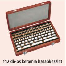 MITUTOYO Mérőhasáb Kerámia 1 pontossági osztály : 1,001 - 100 mm Mérőhasáb készlet : 87 db 516-347-10