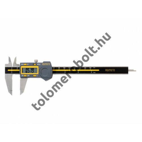 ASIMETO Tolómérő Digitális 0 - 150 mm Szögletes mélységmérő 307-06-4