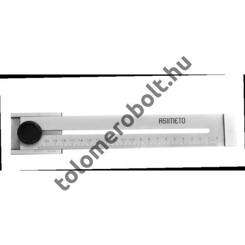 ASIMETO Előrajzoló tolómérő Nóniuszos 0 - 300 mm 322-83-0