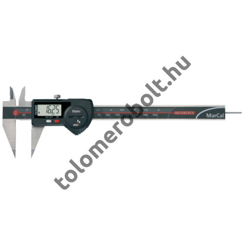MAHR Digital Caliper REFERENCE, IP 67, special design, incl. case, battery: blade type measuring anvils, Measuring range mm/inch: 150 4103074