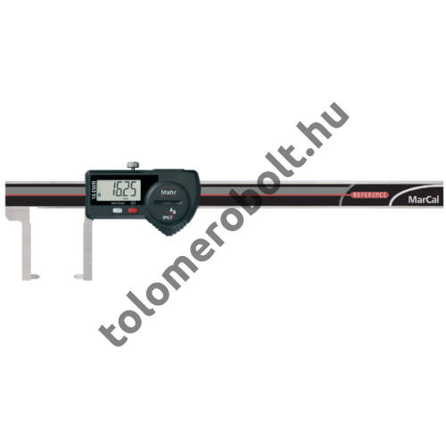 MAHR Digital Caliper REFERENCE, IP 67, special design, incl. case, battery: with outside points, Measuring range mm/inch: 150 4103077