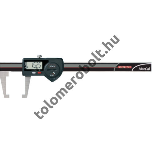 MAHR Digital Caliper REFERENCE, IP 67, special design, incl. case, battery: with neck type jaws, Measuring range mm/inch: 150 4103079