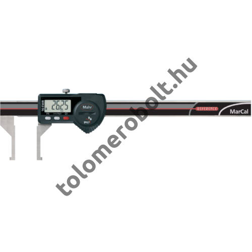 MAHR Digital Caliper REFERENCE, IP 67, special design, incl. case, battery: inside groove type, Measuring range mm/inch: 10-160 4103080