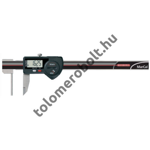MAHR Digital Caliper REFERENCE, IP 67, special design, incl. case, battery: for measuring tube wall thickness, Measuring range mm/inch: 150 4103081