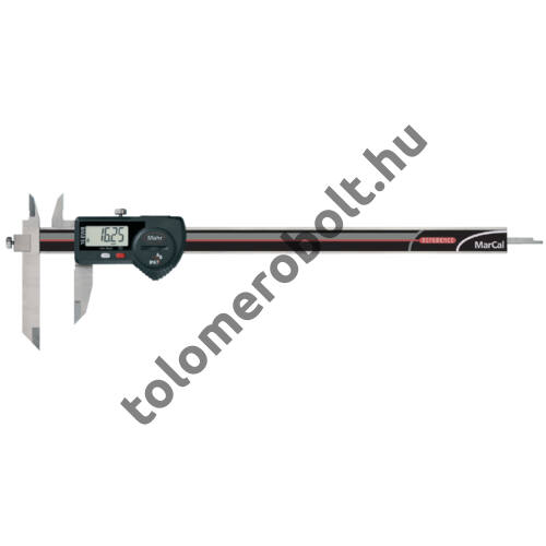 MAHR Digital Caliper REFERENCE, IP 67, special design, incl. case, battery: with slidable jaw, Measuring range mm/inch: 200 4103083