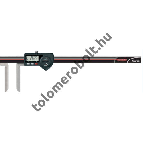 MAHR Digital Caliper REFERENCE, IP 67, special design, incl. case, battery: with long knife-edges, Measuring range mm/inch: 10-200 4103085