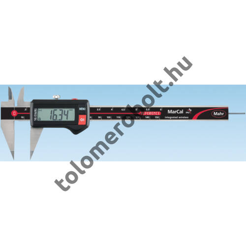 MAHR Digital Caliper REFERENCE, IP 67, special design, incl. case, battery: with points, Measuring range mm/inch: 150 4103375