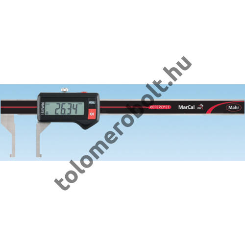 MAHR Digital Caliper REFERENCE, IP 67, special design, incl. case, battery: inside groove type, Measuring range mm/inch: 10-160 4103380