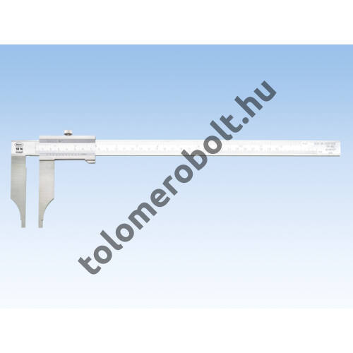 MAHR Vernier Caliper, without sharp edged measuring jaws, incl. plastic case, without fine adjustment, Measuring range mm/inch: 300/0,02 4112201