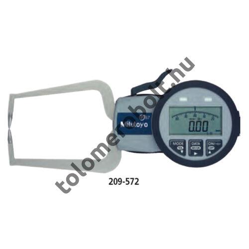 MITUTOYO Karos mérőóra külső méréshez Digitális : 0 - 10 mm IP67 209-570