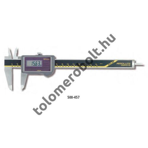 MITUTOYO Napelemes tolómérő Digitális 0 - 150 mm Görgővel Szögletes mélységmérő 500-444
