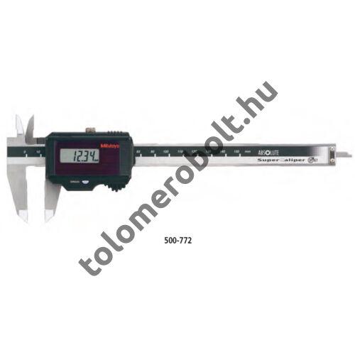 MITUTOYO Tolómérő Digitális 0 - 200 mm Szögletes mélységmérő IP67 500-773