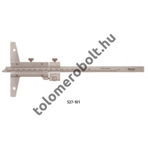 MITUTOYO Mélységmérő tolómérő Nóniuszos 0 - 150 mm 527-101