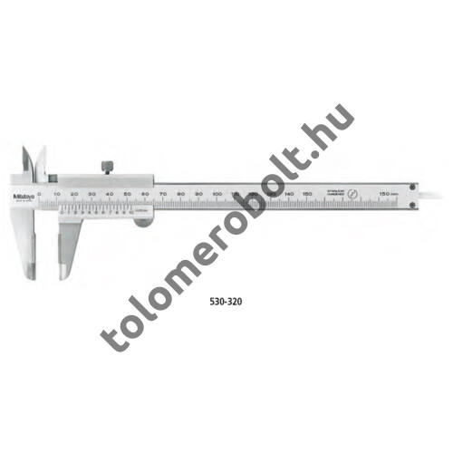 MITUTOYO Tolómérő Nóniuszos 0 - 150 mm Szögletes mélységmérő 530-335