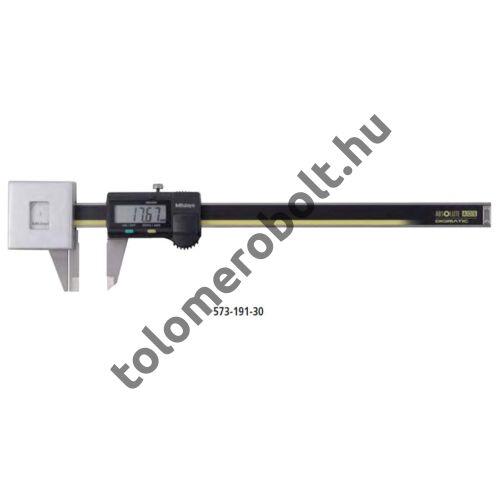 MITUTOYO Tolómérő állandó mérőerővel Digitális 0 - 180 mm Szögletes mélységmérő 573-191-30