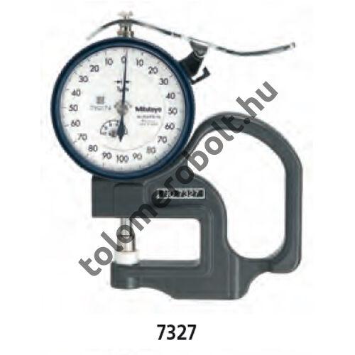 MITUTOYO Vastagságmérő Órás : 0 - 10 mm 7360