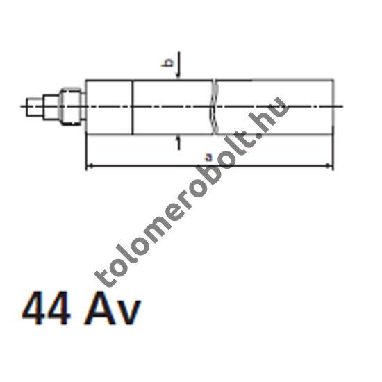 MAHR 44 Av Mélységmérő hosszabbító 75 mm, (6 – 12 mm) 4190090