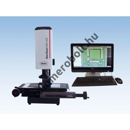 MAHR Mérő mikroszkóp, Videó, Mérőrendszer: Beépített mérőléc + M3 PC, 4247601