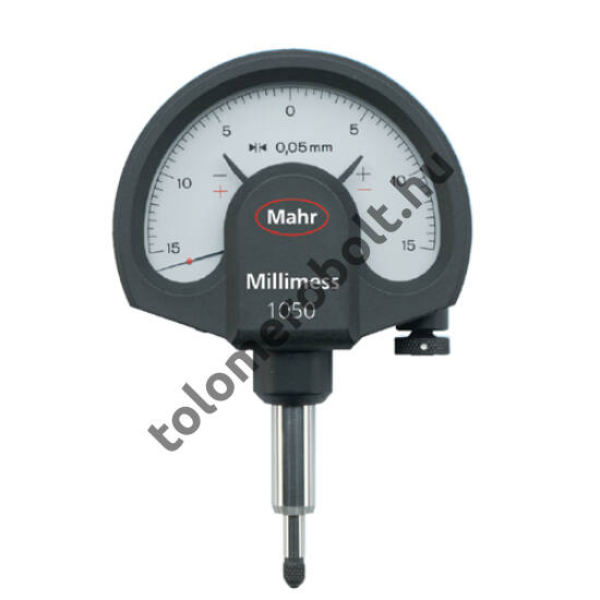 MAHR Mechanical Dial Comparator Millimess - Standard, incl. case, incl. test report, Measuring range mm/inch: 0,01 mm 4332000