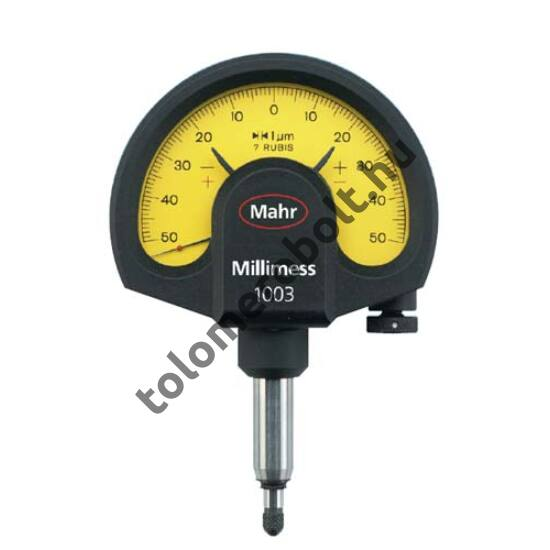 MAHR Mechanical Dial Comparator Millimess - Standard, incl. case, incl. test report, Measuring range mm/inch: 0,5 µ 4335000