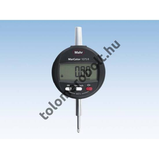 MAHR Digital Dial Indicator, MarCator, REFERENCE plastic case, battery, test, incl. report , Measuring range mm/inch: 0,01/12,5 4336010