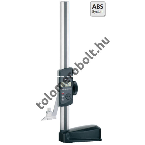 MAHR Height Meas. and Scribing Instrument, switchable metric/inch, stainless steel, MarConnect interface, incl. scriber point 27 ESh, battery, Measuring range mm/inch: 350 4426100