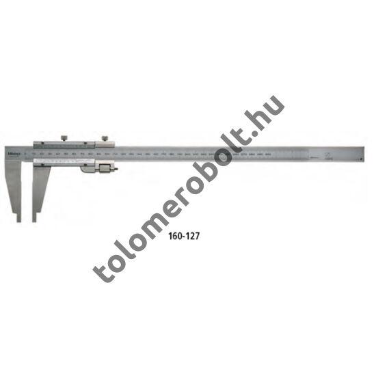 MITUTOYO Műhelytolómérő Nóniuszos 0 - 1500 mm Görgő nélkül 160-110