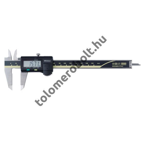 MITUTOYO Tolómérő Digitális 0 - 200 mm Görgő nélkül Szögletes mélységmérő 500-182-30