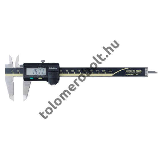 MITUTOYO Tolómérő Digitális 0 - 150 mm Görgő nélkül Szögletes mélységmérő 500-181-30