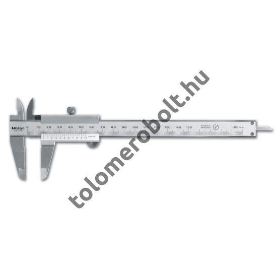 MITUTOYO Tolómérő Nóniuszos 0 - 600 mm Görgő nélkül 530-501
