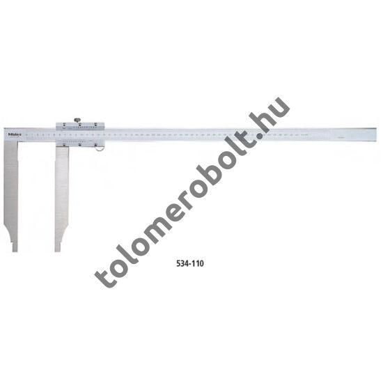 MITUTOYO Tolómérő Nóniuszos 0 - 300 mm Görgő nélkül 534-109