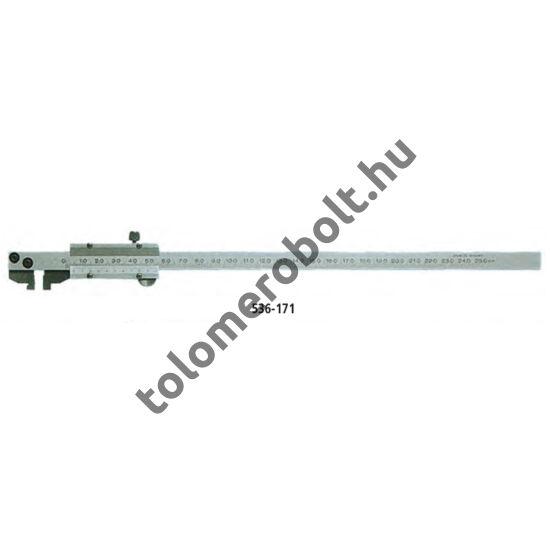 MITUTOYO Tolómérő Nóniuszos 0 - 200 mm Görgő nélkül 536-172