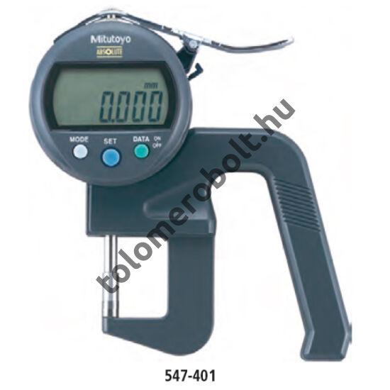 MITUTOYO Vastagságmérő Digitális : 0 - 20 mm IP42 547-401