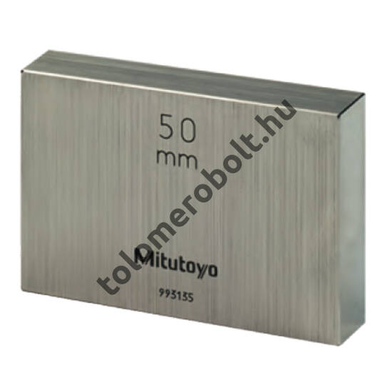 MITUTOYO Mérőhasáb Idomszeracél 1 pontossági osztály : 50 mm 611675-031
