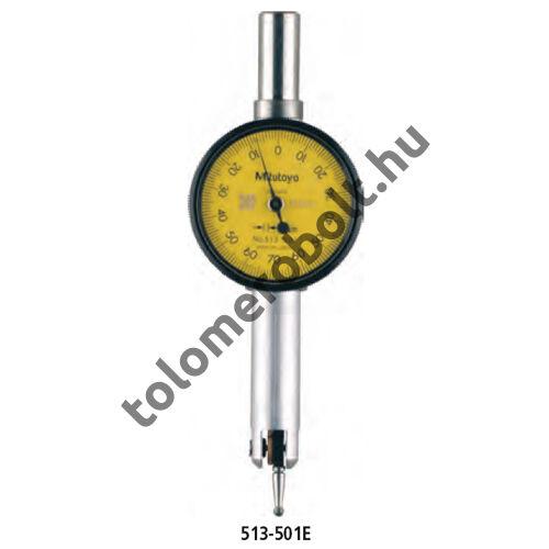 MITUTOYO Szögtapintós mérőóra Készlet Órás : 0,8 mm 513-527T