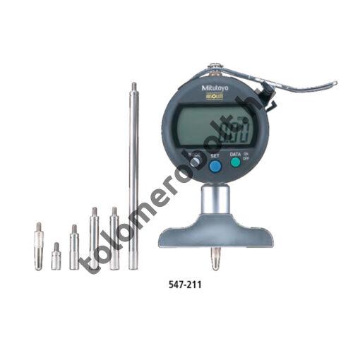 MITUTOYO Mélységmérő óra Digitális 0 - 200 mm 547-212