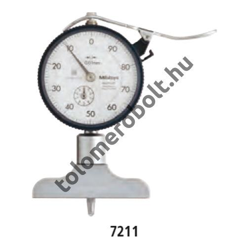 MITUTOYO Mélységmérő óra Órás 0 - 200 mm 7212