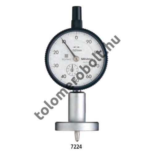 MITUTOYO Mélységmérő óra Órás 0 - 10 mm 7222